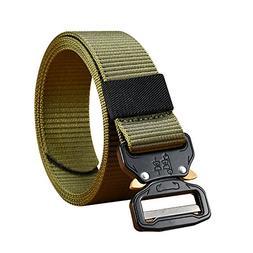 GYMTOP Men's Heavy Duty Tactical Belt-1.5 inch Quick-Rel