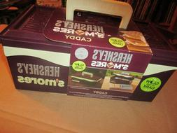 HERSHEY'S Chocolate Exclusive S'Mores Caddy with Tray, Brown