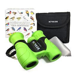 High-Resolution Kids Binoculars Set 8x21 - Bird Watching - E