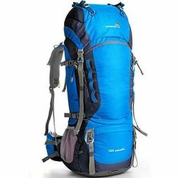 Mountaintop 80l Hiking Backpack Harbor Blue