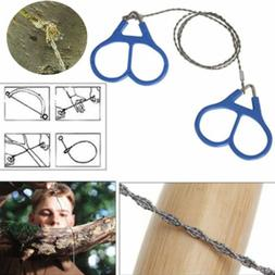 Hiking Camping Stainless Steel Essential Wire Saw Emergency