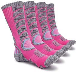 Gosuban 2 Pairs Men and Women's Hiking socks,Antiskid Wickin