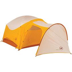 BIG AGNES Big House 4 Vestibule Gold/White Yellow One Size