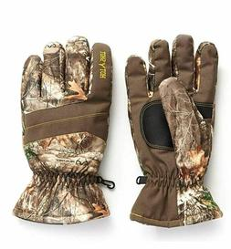 Hunting Gloves Insulated Warm Camo Gear Size Large Hunter Ca
