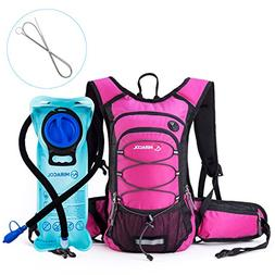 MIRACOL Insulated Hydration Backpack Pack with 2L BPA Free w