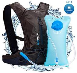 Hydration Backpack for Running Walking Hiking Biking Cycling