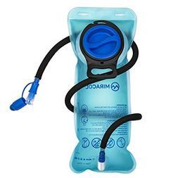 MIRACOL Hydration Bladder 2 Liter 70 oz Water Reservoir - wi