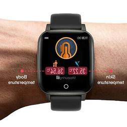 SmartWatch Colour Screen Bluetooth Health Monitor Social Not