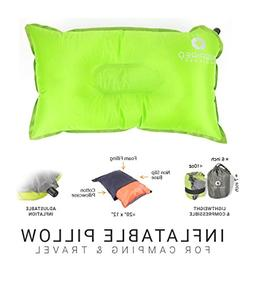 Inspired Equipment Inflatable Backpacking Pillow by Backpack