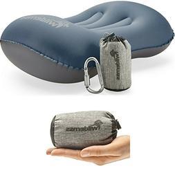 Wildernss Inflatable Camping Pillow + Ultralight Stuff Bag +