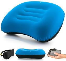 Free-Time Co. Inflatable Camping Pillow Set – Sleeping Fac