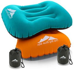 TheBigBlueMtn Ultralight Backpacking Inflatable Camping Pill