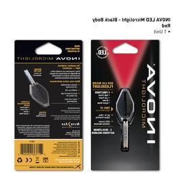 Inova Microlight LED Keychain Flashlight Color: Red