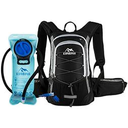 RUPUMPACK Insulated Hydration Backpack Pack 2L Water Bladder
