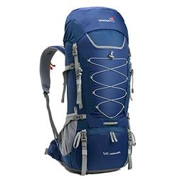 MOUNTAINTOP 80L Internal Frame Backpack Hiking Backpack with