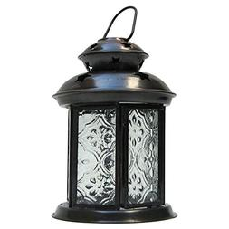 Armor Venue Iron Candle Lantern II - Antique Finish Outdoor