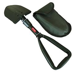 TABOR TOOLS J35, Folding Shovel, Survival Spade, Camping, Ga