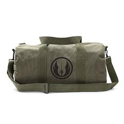Jedi Order Logo Sport Heavyweight Canvas Duffel Bag in Olive