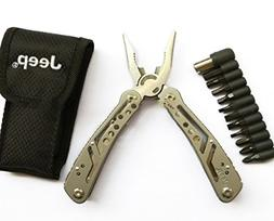 Jeep Multi Tool Set 12-in-1 Multifunction With 12 Screwdrive