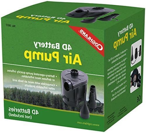 0817 battery powered air pump