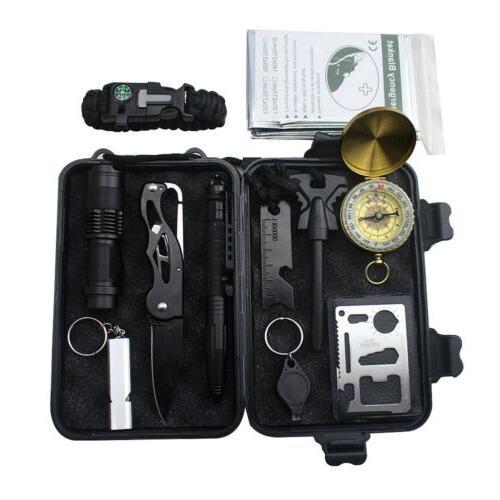 10 in 1 emergency survival gear kits