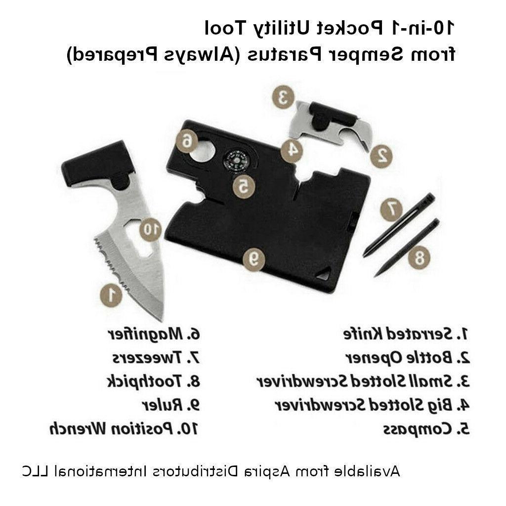 10 Pocket Utility Tool Gear