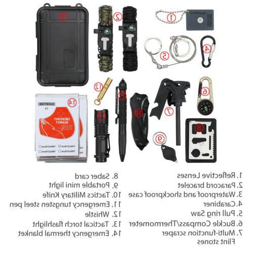 16 1 SOS Outdoor Gear Kit Tool