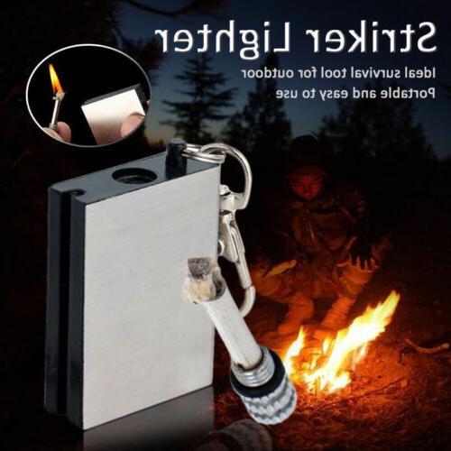 100Pcs Fire Match Lighter Hiking