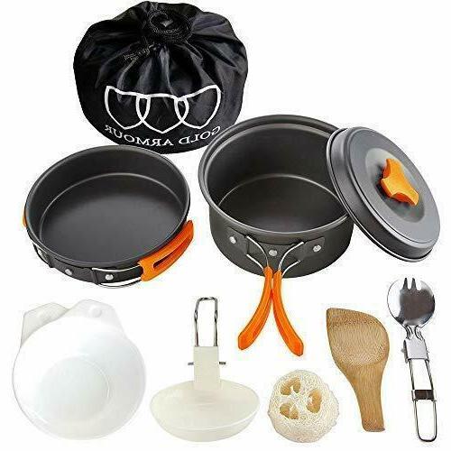 Gold Armour Cookware Mess Kit