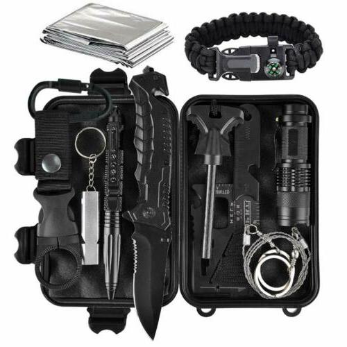 11 in 1 edc outdoor camping military