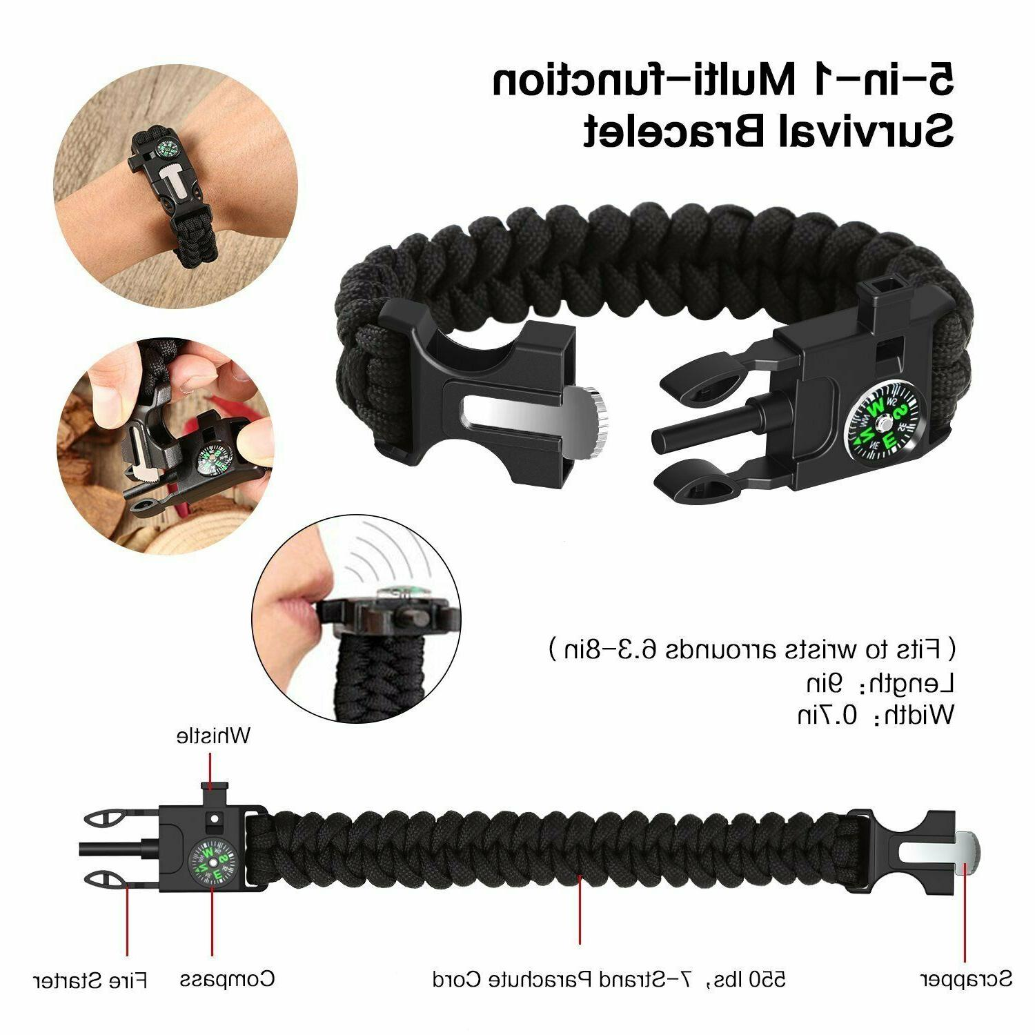 12 In 1 Camping Military Tactical SOS Tools