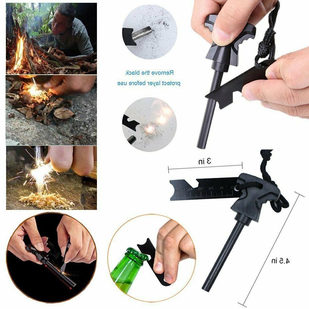 12 1 Camping Kit Military Tools