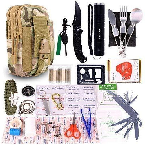 15 in 1 outdoor sports camping hiking