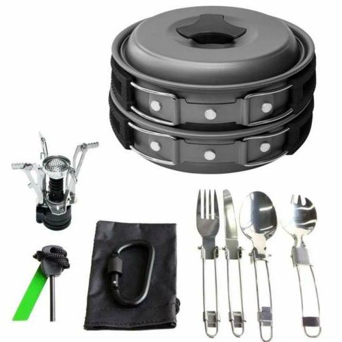 Gold 17 Camping Cookware