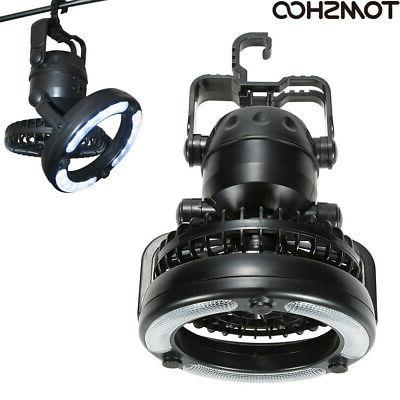 2 in 1 18LED Camping Light + Ceiling Fan Outdoor Hiking Gear