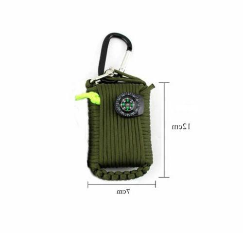 29 Emergency Kit Outdoor Camping Survival 550 EDC Gear Tool Bags