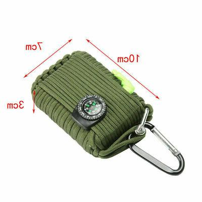 29 in Camping Emergency Survival 550 EDC SOS Tool Gear