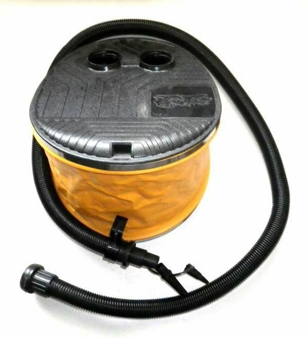 304 large bellows foot pump for sports