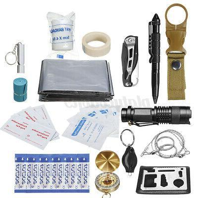 30Pcs/Set Equipment Tactical Tool Camping Kit
