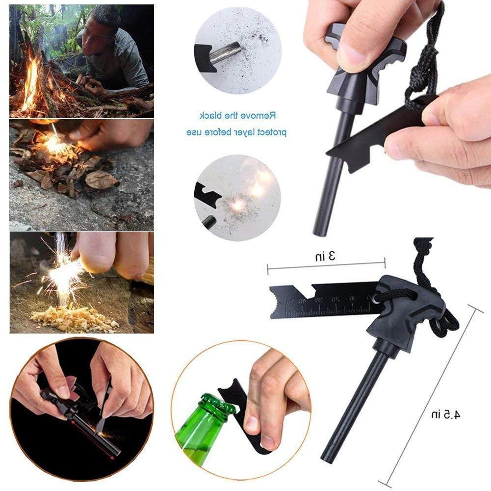 32 Emergency Camping Survival Equipment Outdoor Tactical