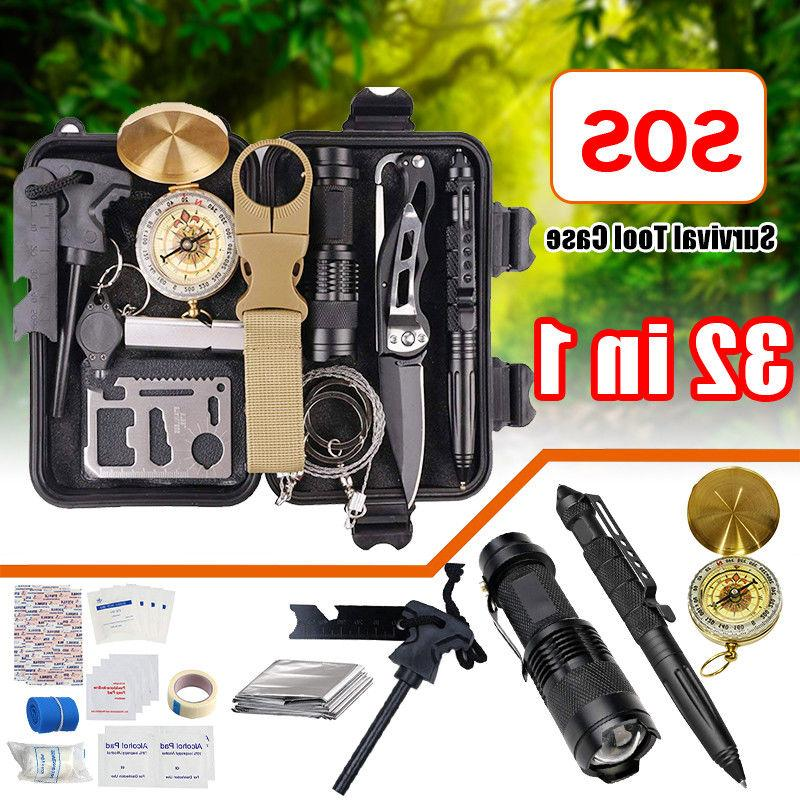 32 in 1 emergency camping survival equipment