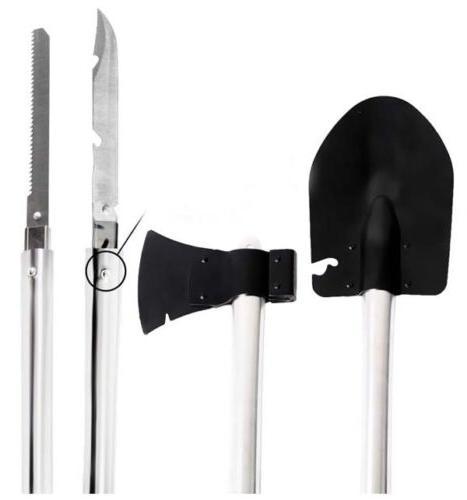 4 in 1 survival knife shovel axe