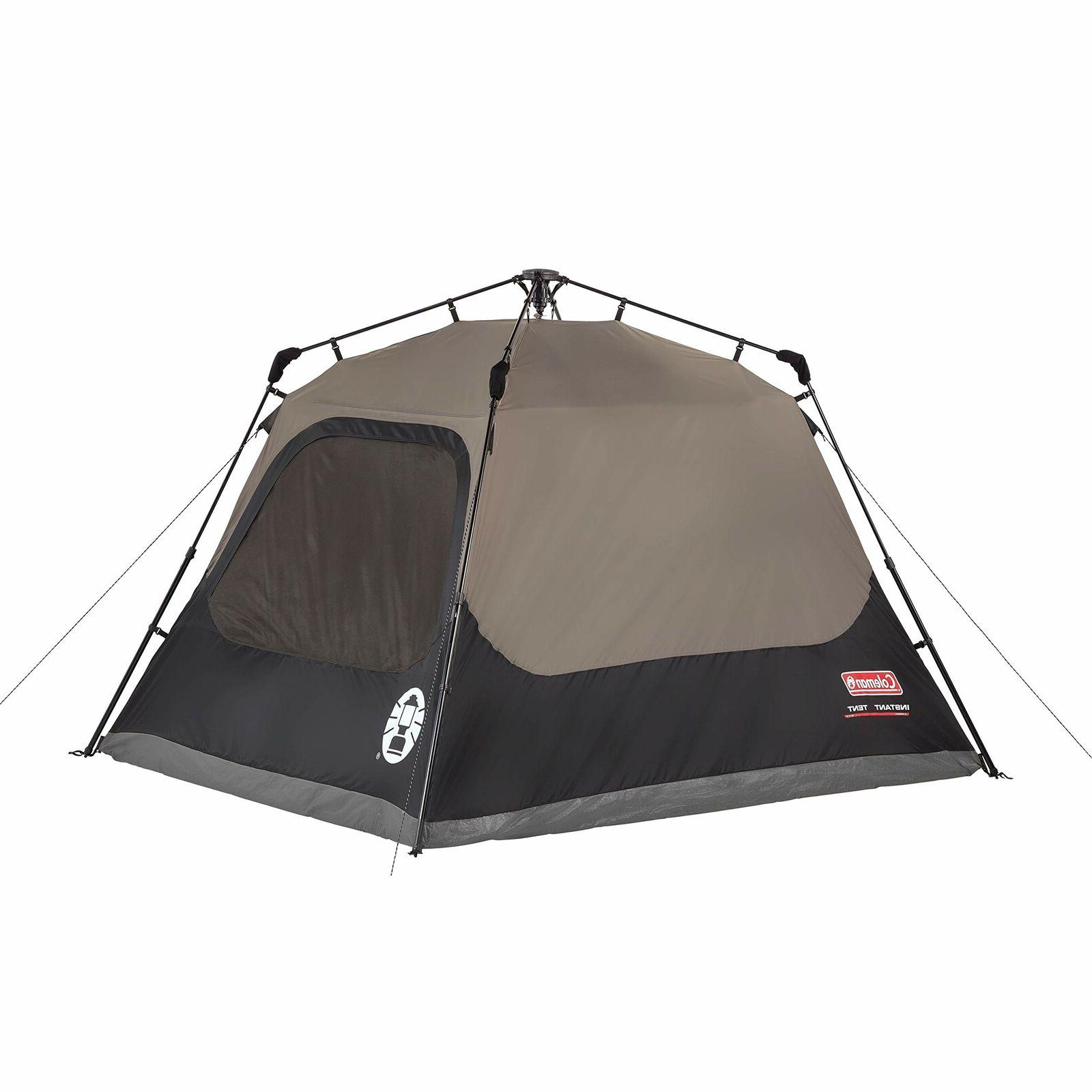Coleman 4-Person Tent with Instant Setup Camping Up 60