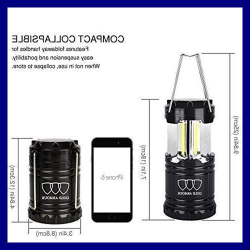 4Pack Portable LED Lantern 350 Equipment Li