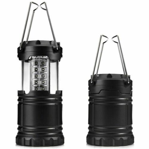 4pcs 30 Collapsible Camping Light Camp Gear Tent Lamp