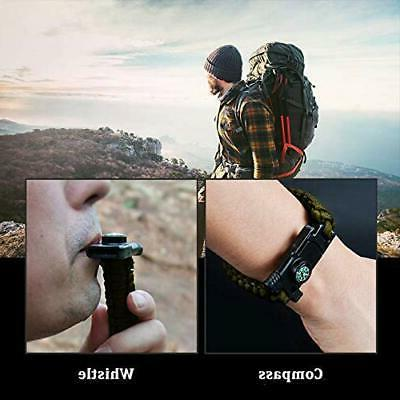 5-in-1 Bracelet Hunting with Fire Starter