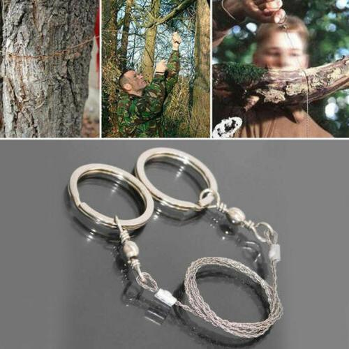 5pcs Camping Steel Wire Saw Travel