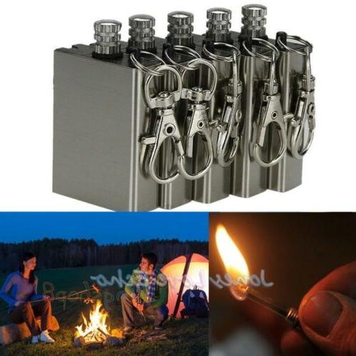 5pcs survival emergency gear camping fire starter