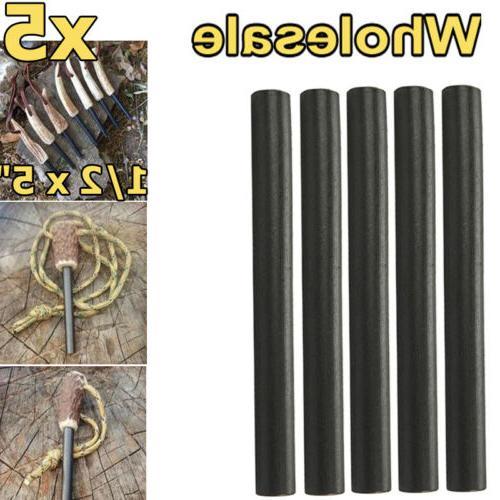 huge 1 2x5 ferrocerium rod flint fire