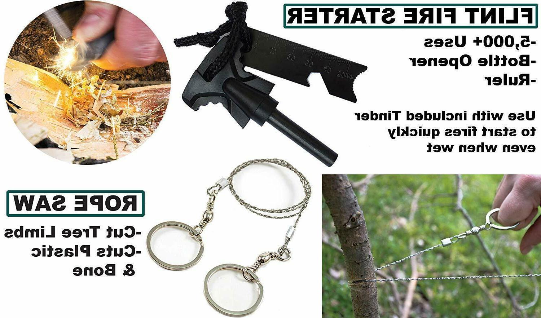 65 Camping Tactical Kit